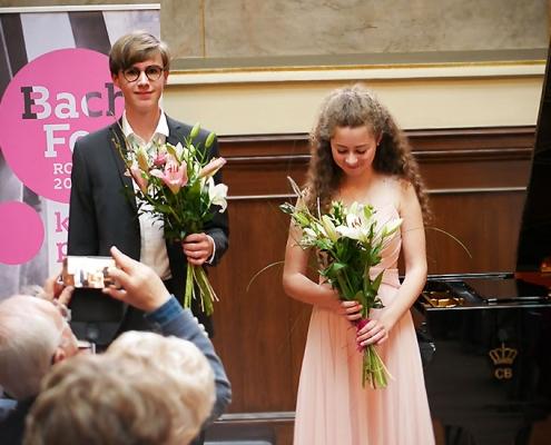Applaus für die Stipendiaten der Carl Bechstein Stiftung, Tabea Streicher und Victor Maria Schmidt