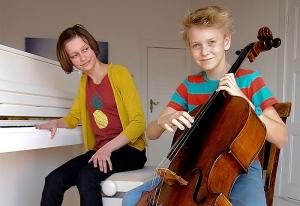 Klavier & ein Streichinstrument