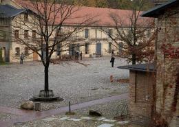 Das wunderschöne Gut von Schloss Britz.