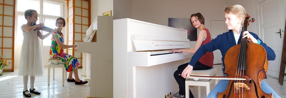 Die Carl Bechstein Stiftung vermittelt Kindern und Jugendlichen den Spaß am Klavierspielen.